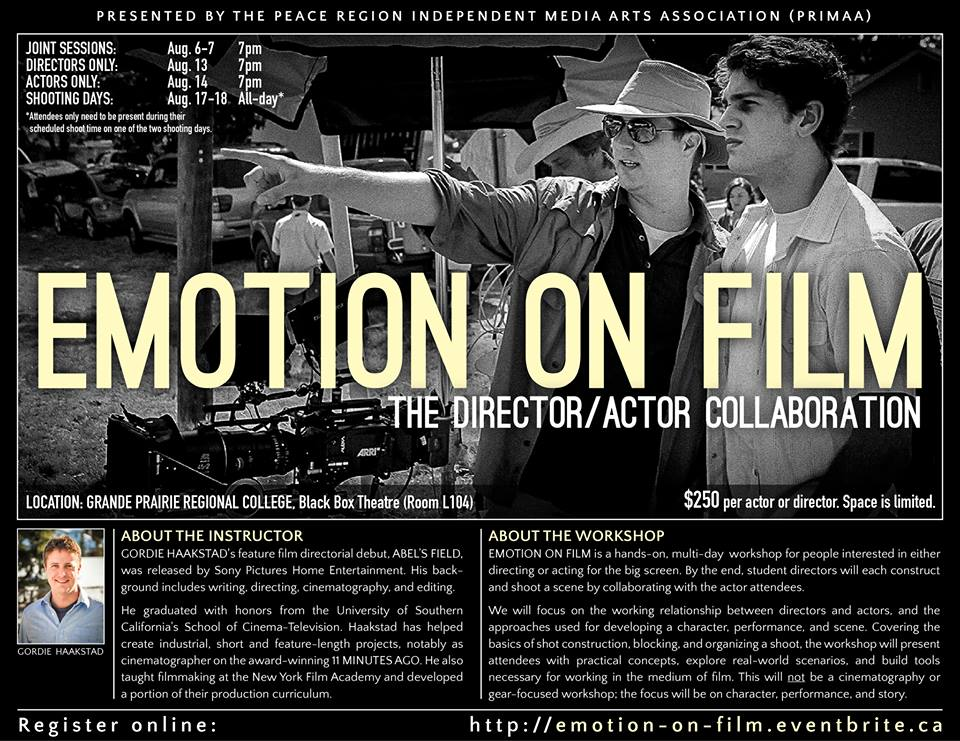 Emotion on Film: A Workshop Presented by PRIMAA